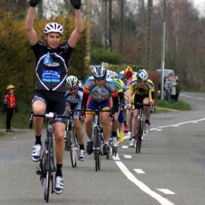 Kévin Fournière Vainqueur à Champagné